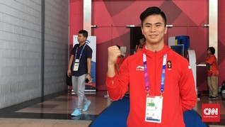 Atlet Indonesia Raih Emas di Kejuaraan Dunia Wushu 2019