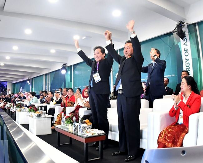 Asian Games 2018 Dua Korea Jadi Satu Di Indonesia