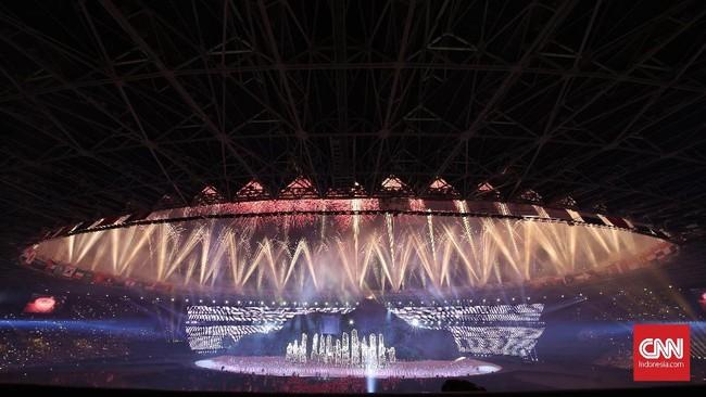 FOTO: Pembukaan Asian Games 2018 Nan Megah dan Mempesona