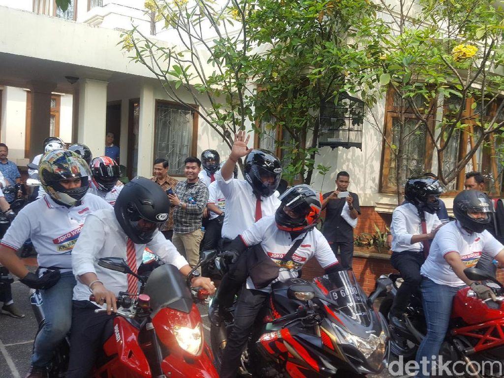 Ini Moge-moge Ratusan Juta yang Antar Sekjen Pro-Jokowi ke KPU