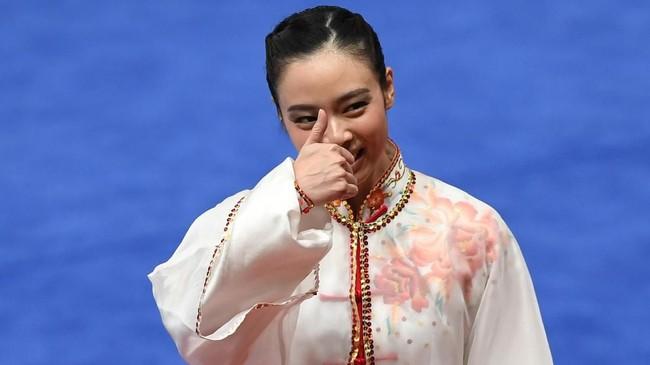 Lindswell Kwok menyatakan Asian Games 2018 kemungkinan besar bakal jadi Asian Games terakhirnya. (ANTARA FOTO/INASGOC/Akbar Nugroho Gumay)
