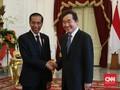 Bertemu Jokowi, PM Korsel Puji Pembukaan Asian Games 2018