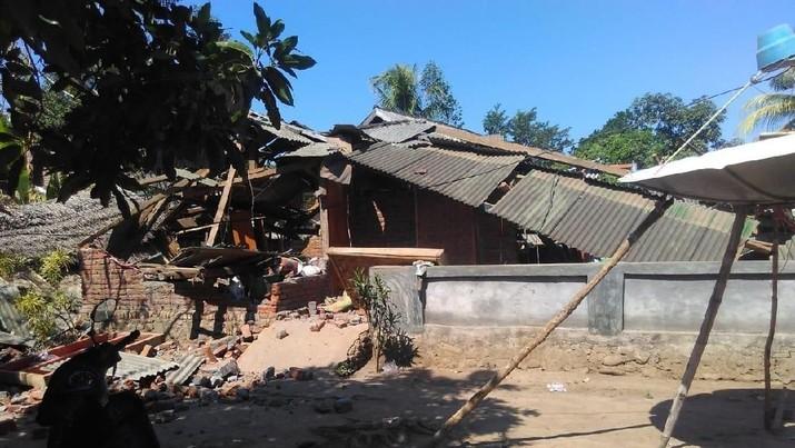 Lombok Gempa Lagi, 2 Orang Tewas