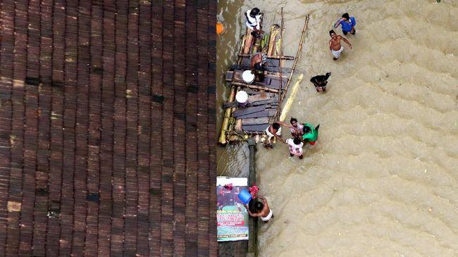 Sebanyak 11 Kabupaten di Sumbar Terendam Banjir