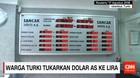 Warga Turki Tukarkan Dolar AS ke Lira