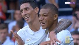 VIDEO: Aksi Mbappe Cetak Dua Gol Saat PSG Kalahkan Guingamp