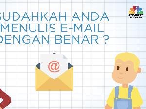 Kadang Sepele, Begini Tips Menulis Email