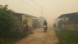 Satgas Bikin Hujan Buatan Atasi Kebakaran Hutan Kalbar