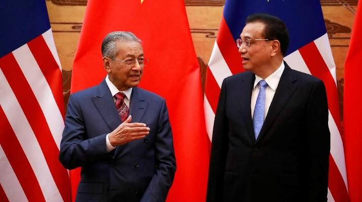 AS-China Perang Dagang, Ini Nasihat Mahathir Mohamad