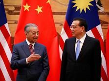 Batalkan Proyek Rp 292 T, Mahathir: China Paham Masalah Kami