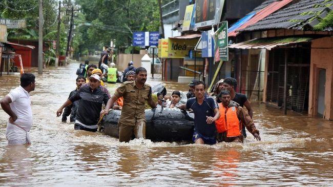 Korban Tewas Capai 244 Orang, India Waspada Banjir Susulan