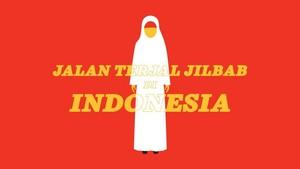 INFOGRAFIS: Jalan Terjal Jilbab di Indonesia