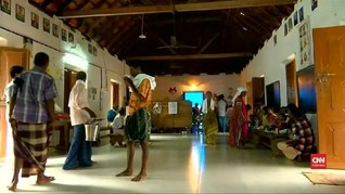 VIDEO: Banjir Mulai Surut, Kerala Terancam Wabah Penyakit