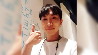 Pesan Manis Eunkwang 'BTOB' untuk Melody sebelum Wamil