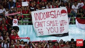 FOTO: Timnas Indonesia Bungkam Hong Kong di Asian Games 2018