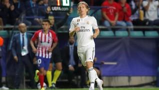 Luka Modric soal ke Inter Milan: Itu Omong Kosong