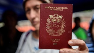 Krisis, Tiga Juta Penduduk Venezuela Eksodus ke Luar Negeri