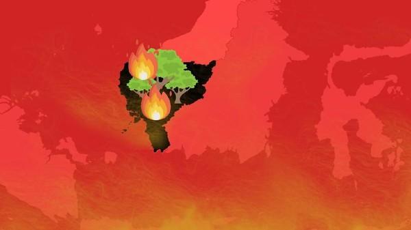 Kebakaran Hutan di Kalbar