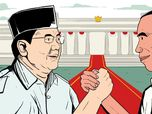 Prabowo Klaim Menang 54,24%, Data KPU Jokowi Unggul 56,24%