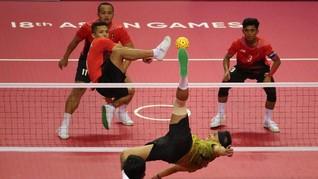 Dipermalukan Malaysia, Sepak Takraw Raih Perak Asian Games