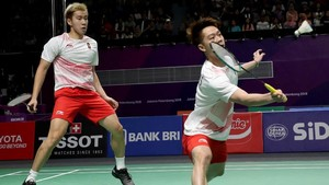 Bulutangkis Beregu Putra Indonesia ke Final Asian Games 2018