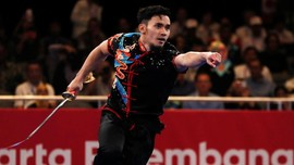 Achmad Hulaefi Tambah Medali Indonesia di Asian Games 2018