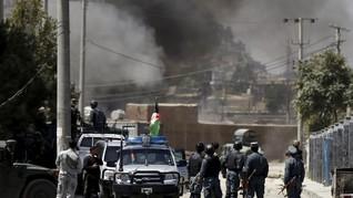 Kementerian PNS Afghanistan Diserang Teroris, 43 Tewas