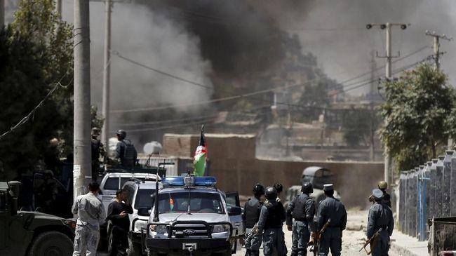 Teror Bom dan Penembakan di Afghanistan Tewaskan 16 Orang
