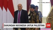 Jokowi Sampaikan Rasa Terima Kasih Atas Partisipasi Palestina