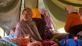 VIDEO: Korban Gempa Lombok Masih Takut Pulang