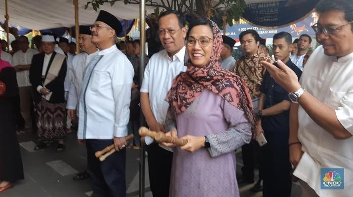 Sri Mulyani bilang menang-kalah itu biasa. Tetapi atlet harus bermain jujur agar nama Indonesia tetap harum di mata dunia.