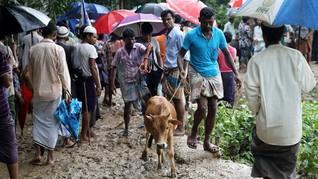 Iduladha Pertama Warga Rohingya di Pengungsian