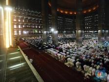 Renovasi Masjid Istiqlal 10 Bulan, Masih Bisa Dipakai Ibadah?