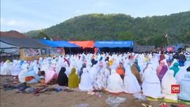 VIDEO: Keprihatinan Korban Gempa Lombok saat Rayakan Iduladha