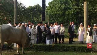 VIDEO: Jokowi Salat Iduladha di Bogor