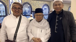Gerindra: Fadli Zon dan Ma'ruf Tak Bahas Pilpres 2019 di Mina