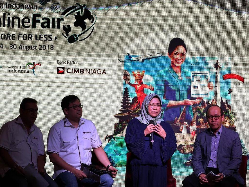 Perhelatan GOTF kali ini menargetkan sekitar 40% turis asing ke Indonesia. Sejalan dengan target Kemenpar untuk mendatangkan 17 juta turis pada tahun 2018 dan 20 juta turis pada tahun 2020 mendatang. Istimewa/CIMB Niaga