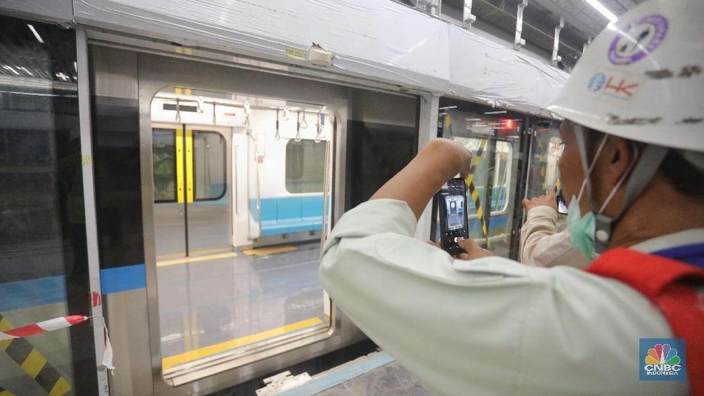 Mirip Di Singapura Ini Penampakan Mrt Jakarta