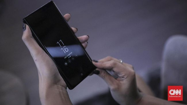 Pemindai Mata Hilang, Samsung S10 Pakai Ultrasonik