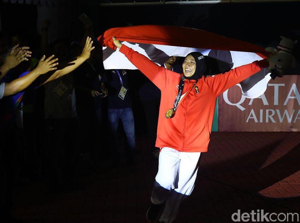 6 Atlet Berhijab Indonesia Peraih Bonus Rp 1,5 M di Asian Games
