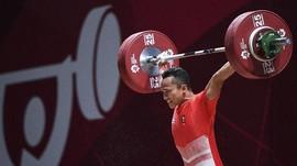 Ditinggal Pelatih, Angkat Besi Indonesia Gagal Raih Medali