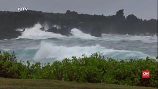 VIDEO: Badai Lane Menuju Hawaii, Warga Diminta Waspada