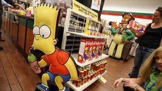 Kwik-E-Mart 'The Simpsons' Dibuka di AS