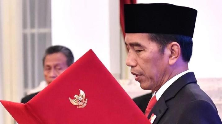 Live streaming pengumuman, pelantikan menteri Jokowi dan pejabat setingkat menteri dalam Kabinet Jokowi-Ma'ruf pada Rabu (23/10/2019)