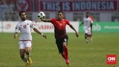 Striker Timnas Indonesia Pemain Tertua di Piala AFF 2018