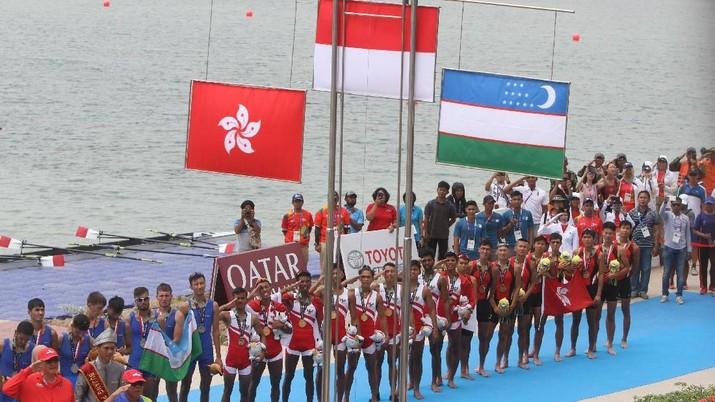 Jokowi: Atlet RI Bisa Lampaui Target Emas Asian Games