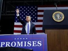 Wacana Impeachment Mengemuka, Trump 'Ancam' Pasar Saham