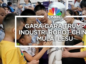 Gara-Gara Trump, Industri Robot China Mulai Lesu