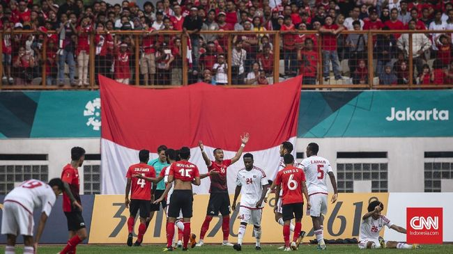 Live Streaming Timnas Indonesia vs Mauritius