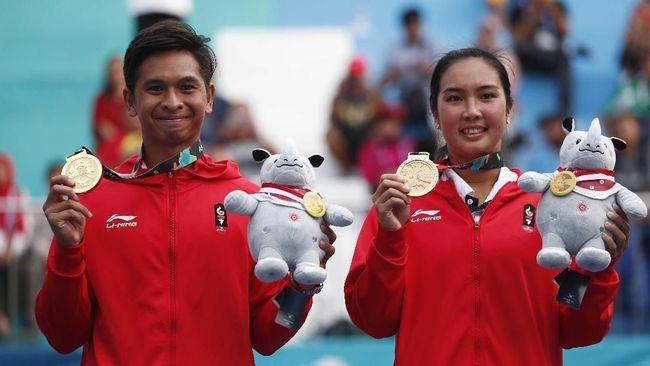 Raih Emas Asian Games, Aldila/Christo Bidik Olimpiade 2020